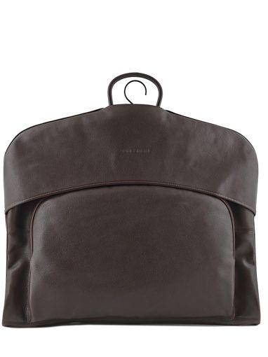 Longchamp LE FOULONNÉ BICOLORE Garment case Brown