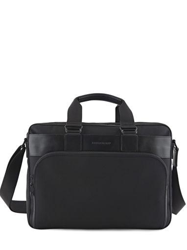 Longchamp NYLTEC Serviette Noir