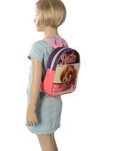 Backpack Mini Paw patrol Pink basic AST4090-vue-porte