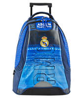 Sac A Dos A Roulettes 2 Compartiments Real madrid Bleu rmcf 173R204R