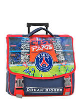 Wheeled Schoolbag 2 Compartments Paris st germain Multicolor paris 173P203R