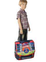 Wheeled Schoolbag 2 Compartments Paris st germain Multicolor paris 173P203R-vue-porte