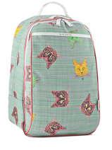 Backpack Jeune premier Blue canvas BJ17