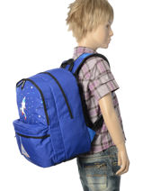 Backpack Poids plume Blue be led PDI1753-vue-porte