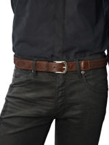 Belt Adjustable Katana Brown atlanta C0018T-vue-porte