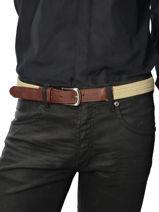 Belt Adjustable Katana Beige atlanta C0018T-vue-porte