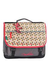 Satchel 3 Compartments Cameleon Pink new basic NBA-CA41