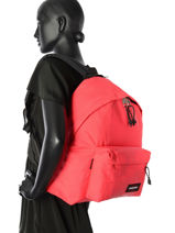 Backpack Eastpak Pink K620RUB-vue-porte
