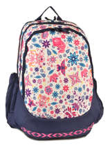 Backpack 3 Compartments Rip curl White mandala LBPJR4