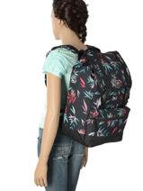 Backpack 1 Compartment Rip curl Black las dalias LBPJO4-vue-porte