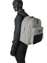 Backpack 2 Compartments Eastpak Gray k060-vue-porte