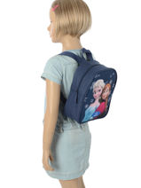 Backpack Mini Frozen Blue mono 2MONO-vue-porte