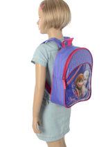 Backpack Mini Frozen Violet fore 3FLEU-vue-porte