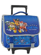 Wheeled Schoolbag Paw patrol Blue star 12001WHF