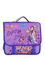 Satchel Soy luna Violet purple line 10LUNA
