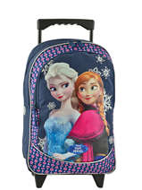 Wheeled Backpack Frozen Blue mono 16MONO