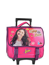 Cartable à Roulettes Soy luna Rose enjoy 18ENJO