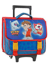 Cartable A Roulettes Yokai watch Bleu super 22401WEF