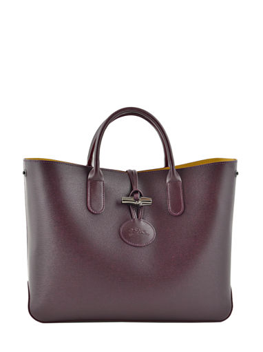 Longchamp Sac porté main Violet