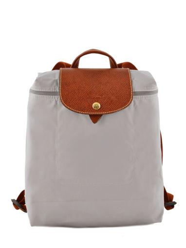 Longchamp Le pliage Backpack Gray