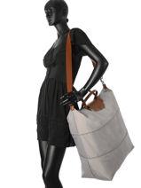 Longchamp Le pliage Sac de voyage Gris-vue-porte
