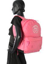 Sac A Dos 1 Compartiment Superdry Rose backpack woomen G91000JP-vue-porte