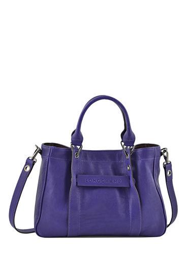 Longchamp Longchamp 3d Sac porté main Violet
