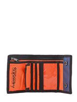 Wallet Superdry Blue accessories men M98001JP-vue-porte