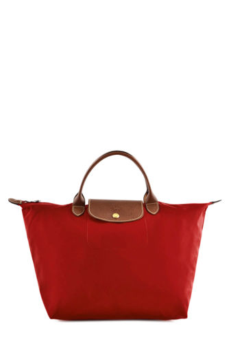 Longchamp Sacs porté main Rose