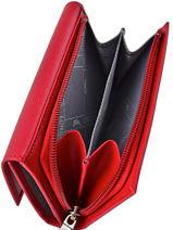 Longchamp Roseau Wallet Blue-vue-porte