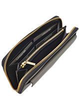 Wallet Leather Lancaster Black signature 127-04-vue-porte