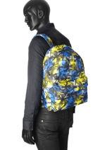 Backpack 1 Compartment Miniprix Blue basic L07-1-vue-porte