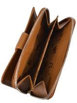 Longchamp Le pliage cuir Portefeuilles Vert-vue-porte