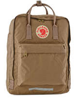 Backpack A4 Fjallraven Beige kanken 23563