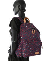 Backpack 1 Compartment Eastpak Violet aminimal AK620JAC-vue-porte
