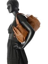 Shopper Rayon D Leather Gerard darel Brown rayon d DES07402-vue-porte