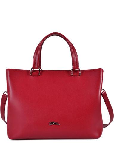 Longchamp Honoré 404 Sac porté main Rouge