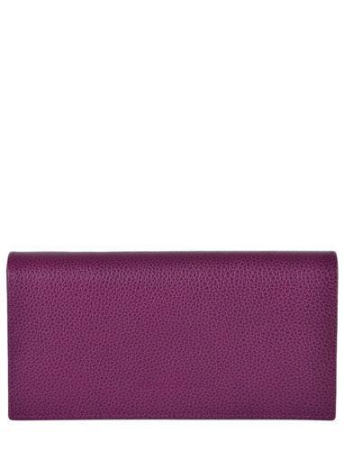 Longchamp Le foulonné Portefeuille Violet
