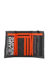 Wallet Superdry Gray accessories men M98021DP-vue-porte