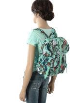Backpack 1 Compartment Herschel Green classics 10301-vue-porte