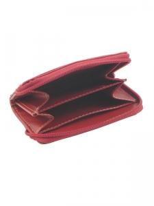 Porte-monnaie Miniprix Rouge lisse B6326-vue-porte