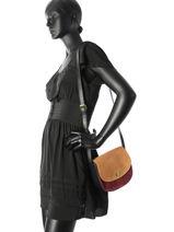 Shoulder Bag Jolo Pieces Blue jolo 17083229-vue-porte