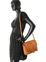 Shoulder Bag Joy Pieces Brown joy 17084034-vue-porte