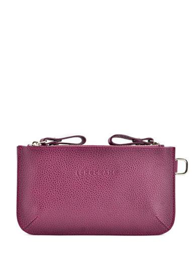 Longchamp Porte monnaie Violet