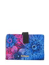 Wallet Desigual Multicolor carlin 17WAYFGW