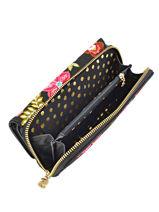 Wallet Desigual Black carribou 17WAYPAR-vue-porte