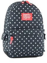Sac A Dos 1 Compartiment Superdry Bleu backpack woomen G91001NP