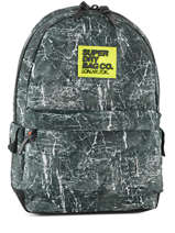 Sac à Dos 1 Compartiment Superdry Noir backpack men M91002NP