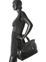 Shoulder Bag A4 Armani jeans Black edizione limitata 91-7A811-vue-porte