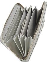 Wallet Armani jeans Gray vernice lucida 5V32-55-vue-porte